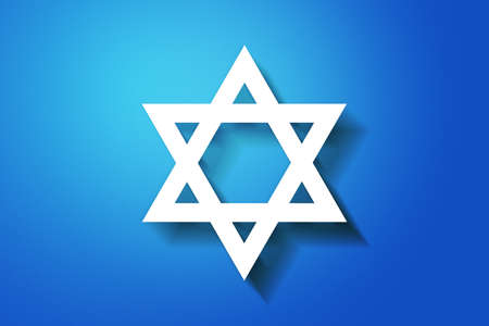 Blue Jewish Background