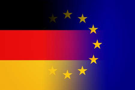 suface: Germany European Union Background Stock Photo