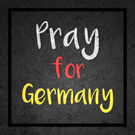 luto: Pray for Germany Mourning Image Foto de archivo