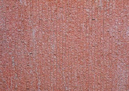 Closeup Antique Maroon Stone Wall Blocks Texture Background