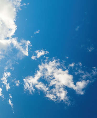 Landscape View of Blue Sky with Cloud
