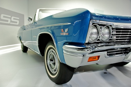 refurbished: Classic American Convertible at 2012 NYC Autoshow Editorial