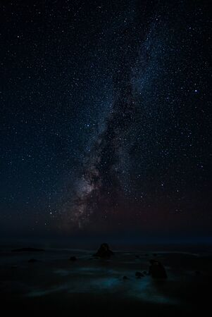The Milky Way as Seen from Northern California, USA 写真素材