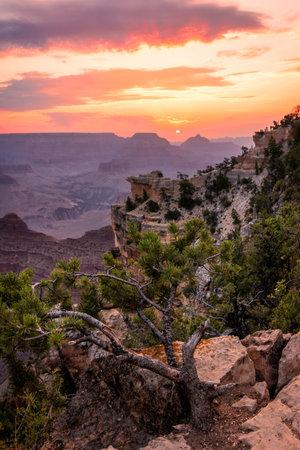 Sunrise at the Grand Canyon, Arizona, USA