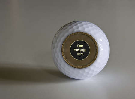 Magic Fortune telling golf ball which can be modified with any message