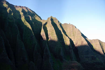 Na Pali coast line in Kauai in Hawaii Stock Photo - 4288390