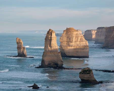 The Twelve Apostles off the coast of Australia photo