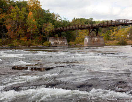 Ohiopyle in Pennsylvania on the Youghiogheny river in early fall