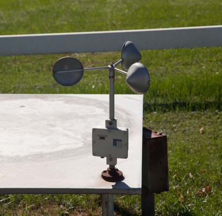Equipment for measuring wind speed