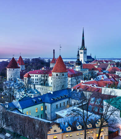 estonia: Capital of Estonia, Tallinn is famous for its World Heritage old town walls and cobbled streets. The old town is surrounded by stone walls and distinctive red roofs and glows at dusk