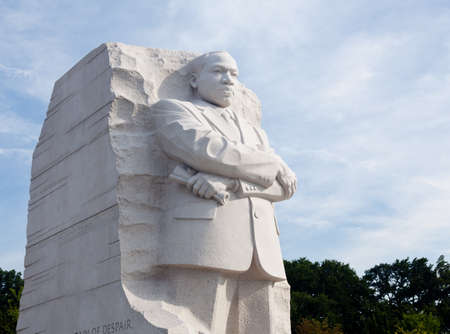 assassinated: Washington, DC - August 24: The monument to Dr Martin Luther King in Washington DC is to be dedicated by President Obama on August 28, 2011.