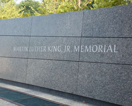 Washington, DC - August 24: The monument to Dr Martin Luther King in Washington DC is to be dedicated by President Obama on August 28, 2011.