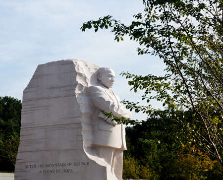 Washington, DC - August 24: The monument to Dr Martin Luther King in Washington DC is to be dedicated by President Obama on August 28, 2011. Stock Photo - 10958209