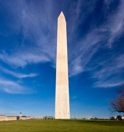 Washington Monument in DC on a clear winter day Stock Photo - 11526353