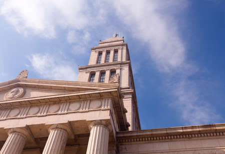 masonic: Washington Masonic Temple and memorial tower in Alexandria, Virginia. The tower was completed in 1932
