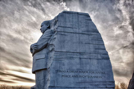 Washington, DC - February 13: Monument to Dr Martin Luther King on February 13, 2012. Government agreed  on Feb 12 to change the Drum Major words on the statue Stock Photo - 12412551