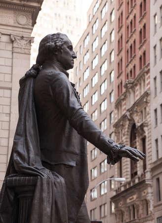 federal hall: Statue to President George Washington Federal Hall NY