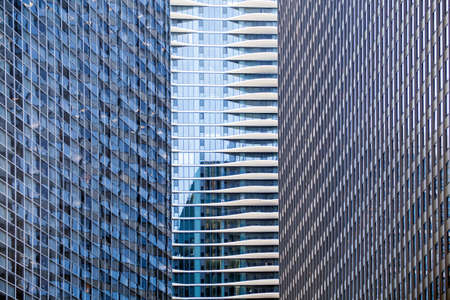 distinctive: Distinctive condo hotel nestles between two large office buildings in Chicago