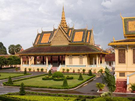 Moonlight Pavilion in Royal Palace in Phnom Penh Cambodia