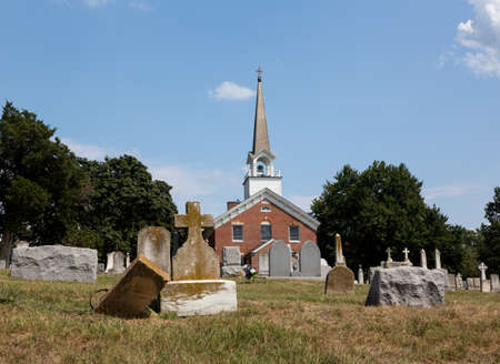 St Ignatius church is the oldest continuously used church in the USA in Maryland Stock Photo - 14946103