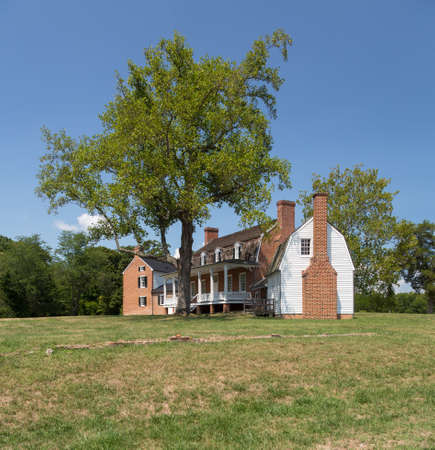 National Historic site of home of Thomas Stone signer of Declaration of Independence Stock Photo - 14939171