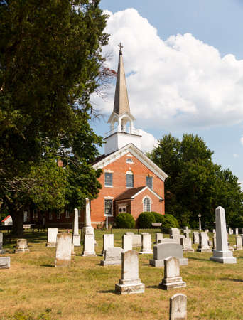 St Ignatius church is the oldest continuously used church in the USA in Maryland Stock Photo - 14946076