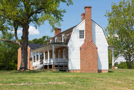 National Historic site of home of Thomas Stone signer of Declaration of Independence Stock Photo - 14939174