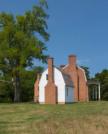 National Historic site of home of Thomas Stone signer of Declaration of Independence Stock Photo - 14939175