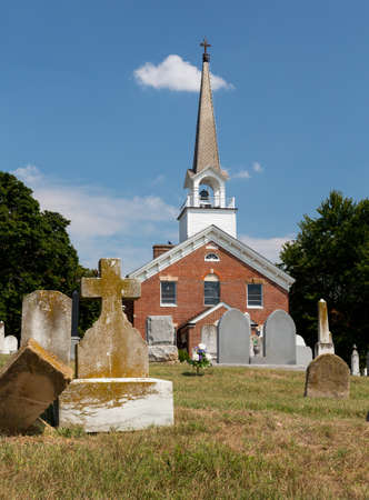St Ignatius church is the oldest continuously used church in the USA in Maryland Stock Photo - 14946105