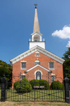 St Ignatius church is the oldest continuously used church in the USA in Maryland Stock Photo - 14946104