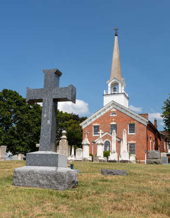 St Ignatius church is the oldest continuously used church in the USA in Maryland Stock Photo - 14946106