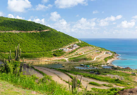 eyesore: Construction of new timeshare or villas on island of Sint Maarten St Martin