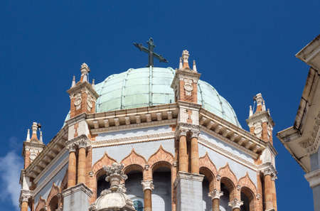 Ornate dome and tower of Memorial Presbyterian Church built Henry Flagler in St Augustine Florida