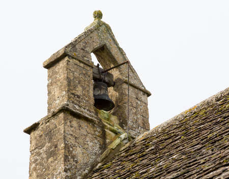 Parish Church of St Oswald in deserted hamlet of Widford in Oxfordshire in Windrush Valley Stock Photo - 16459879