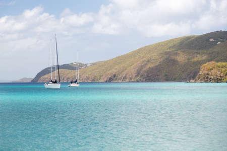 brewers: Brewers Beach bay scene on island of St Thomas in US Virgin Islands USVI