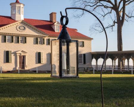 martha: President George Washington home at Mount Vernon in Virginia