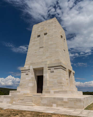 Memorials to all the fallen soldiers and sailors from Allied forces that fought in Gallipoli campaign in First World War