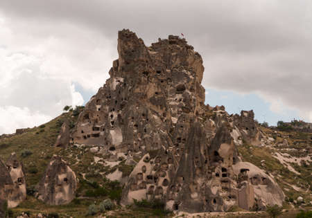 high plateau: Cappadocia lies in eastern Anatolia, in the center of what is now Turkey. The relief consists of a high plateau over 1000 m in altitude that is pierced by volcanic peaks and fairy chimneys. Hot air balloon tours fill the air with their canopies