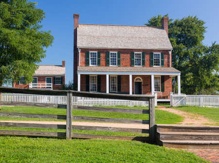 historic site: Clover Hill Tavern. Site of the surrender of Southern Army under General Robert E Lee to Ulysses S Grant in Appomattox, Virginia, USA