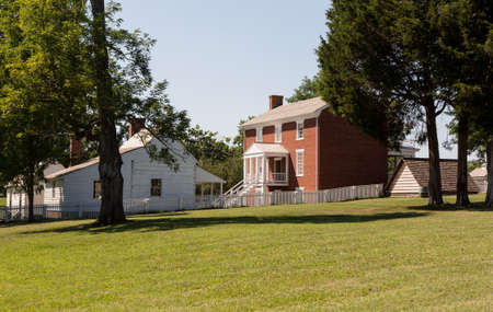 ulysses s  grant: McLean House was the building in Appomattox which was the site of the surrender of Southern Army under General Robert E Lee to Ulysses S Grant April 9, 1865 Editorial
