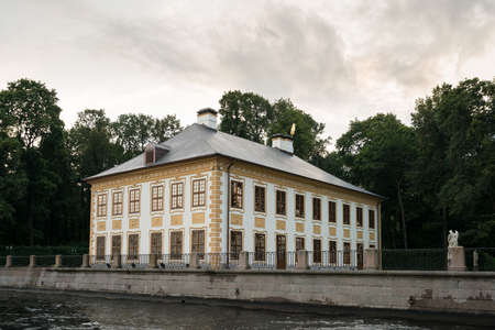 ST PETERSBURG, RUSSIA - SEPTEMBER 12: Summer Palace on September 12, 2017 in St Petersburg, Russia. The palace was built in 1710. Editorial