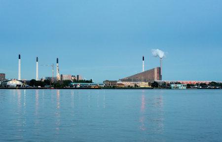 COPENHAGEN, DENMARK - SEPTEMBER 18: New eco friendly power station on September 18, 2017 in Copenhagen. The site opened in March 2017.