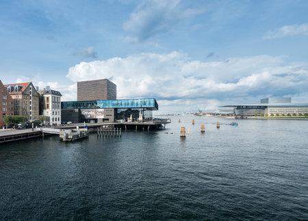 COPENHAGEN, DENMARK - SEPTEMBER 18: The Royal Playhouse on September 18, 2017 in Copenhagen. The theatre opened in 2008.