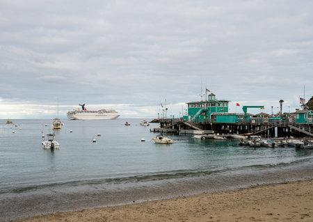 catalina island california 2 november 2017 carnival cruise