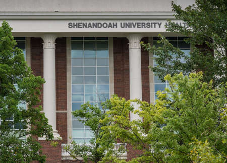 WINCHESTER, VA - 20 AUGUST 2018: Health and Life Sciences at Shenandoah University in Winchester, Virginia