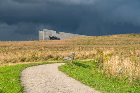 Viewing platform at the Shanksville, Pennsylvania 9 11 Memorial site for Flight 93