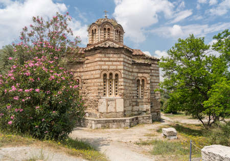 Church of the Holy Apostles in the Greek Forum in Athens Greece