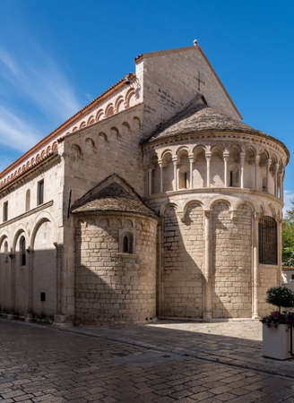 St Chrysogonus church in the ancient old town of Zadar in Croatia