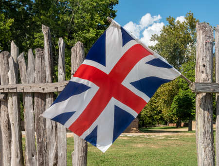 Historic union flag or jack from historic period before Ireland was added. Could be used as Brexit image for mainland Britain separate from Ireland