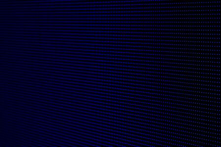 Dark Blue Dots RGB LED Pixel Pitch - Color Mixing LEDS. Perspective view SMD Technology Screen Display